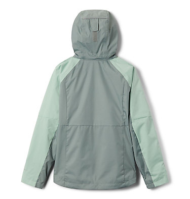 Girls' Rain Scape™ Jacket Rain Scape™ Jacket | 467 | L, New Mint, Light Lichen, back