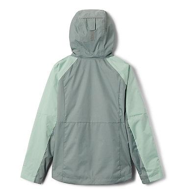 Girls' Rain Scape™ Jacket Rain Scape™ Jacket | 467 | L, New Mint, Light Lichen, back