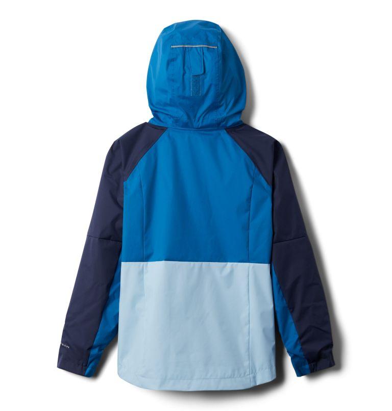 Rain Scape™ Jacket | 467 | L Girls' Rain Scape™ Jacket, Nocturnal, Spring Blue, back