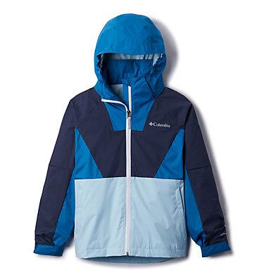 Girls' Rain Scape™ Jacket Rain Scape™ Jacket | 467 | L, Nocturnal, Spring Blue, front