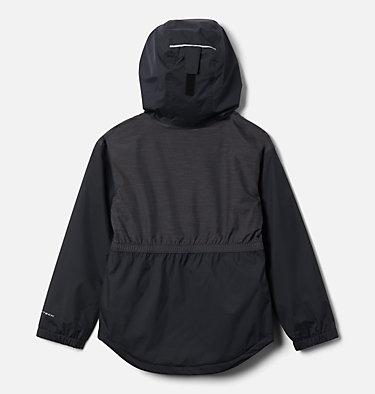 Girls' Rainy Trails™ Fleece Lined Jacket Rainy Trails™ Fleece Lined Jacket   466   L, Black, back