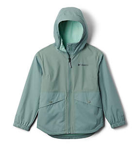 Girls' Rainy Trails™ Fleece Lined Jacket