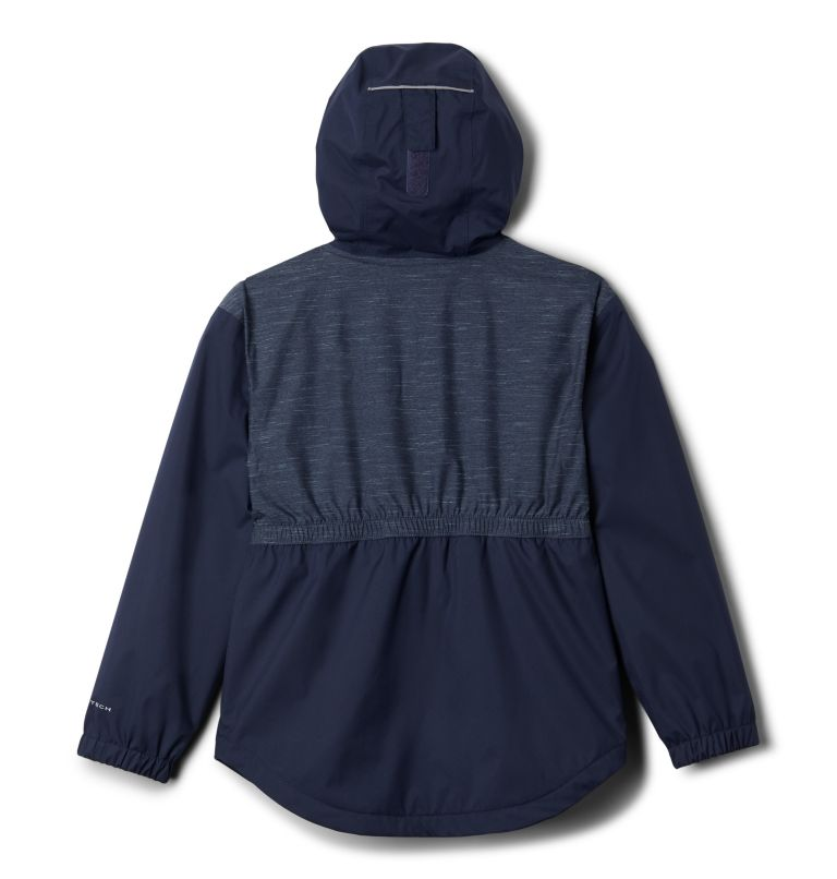 Girls' Rainy Trails™ Fleece Lined Jacket Girls' Rainy Trails™ Fleece Lined Jacket, back