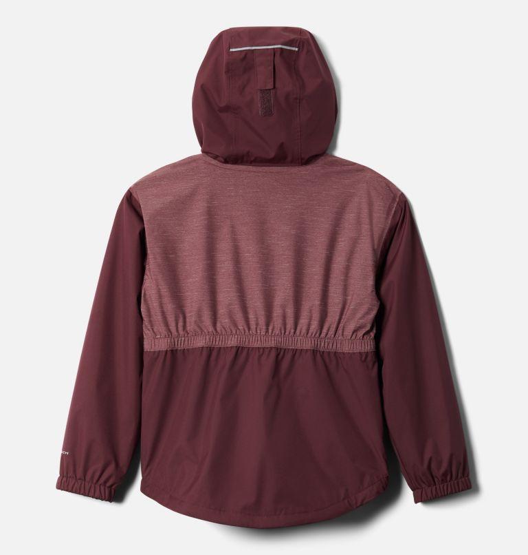 Girls' Rainy Trails™ Fleece Lined Jacket Girls' Rainy Trails™ Fleece Lined Jacket, back