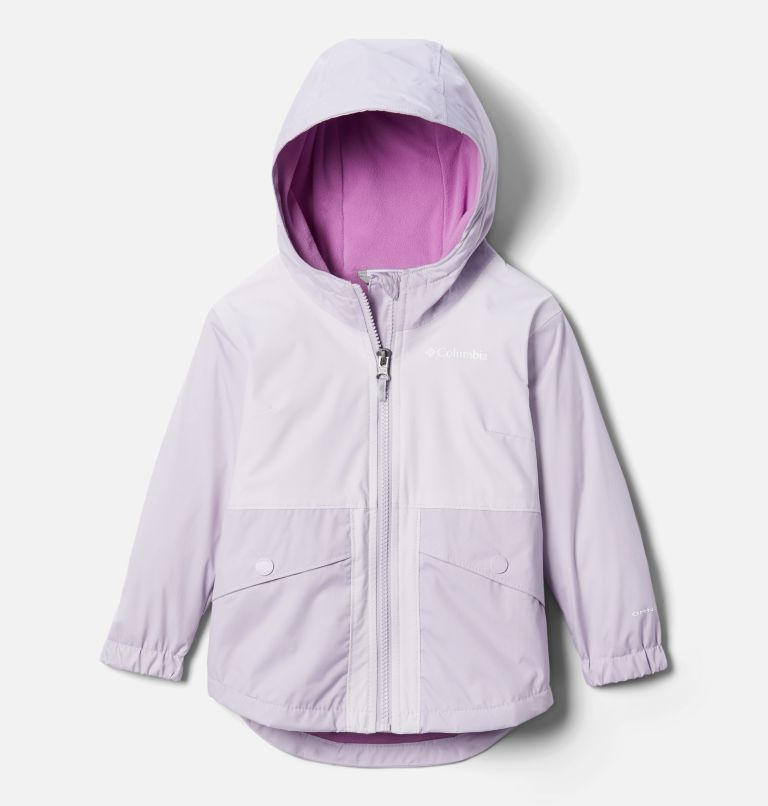 Girls' Toddler Rainy Trails™ Fleece Lined Jacket Girls' Toddler Rainy Trails™ Fleece Lined Jacket, front
