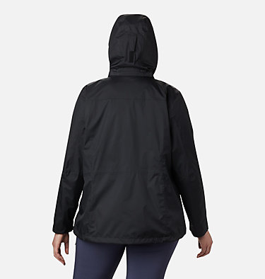 Women's Windgates™ Jacket - Plus Size Windgates™ Jacket | 010 | 1X, Black, back