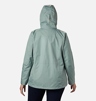 Women's Windgates™ Jacket - Plus Size Windgates™ Jacket | 010 | 1X, Light Lichen, back
