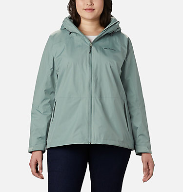 Women's Windgates™ Jacket - Plus Size Windgates™ Jacket | 010 | 1X, Light Lichen, front