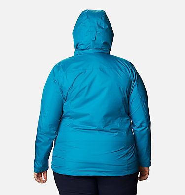 Women's Windgates™ Jacket - Plus Size Windgates™ Jacket | 010 | 1X, Fjord Blue, back