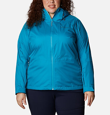 Women's Windgates™ Jacket - Plus Size Windgates™ Jacket | 010 | 1X, Fjord Blue, front