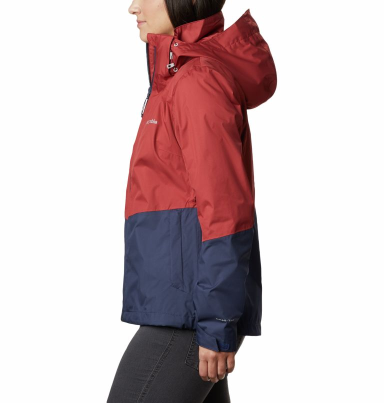 Windgates™ Jacket | 467 | L Chaqueta Windgates™ para mujer, Nocturnal, Dusty Crimson, a1
