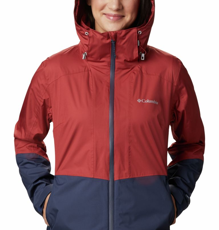 Windgates™ Jacket | 467 | L Chaqueta Windgates™ para mujer, Nocturnal, Dusty Crimson, a2