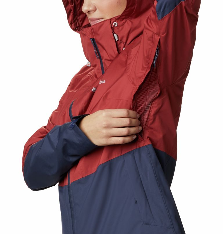 Windgates™ Jacket | 467 | L Chaqueta Windgates™ para mujer, Nocturnal, Dusty Crimson, a5