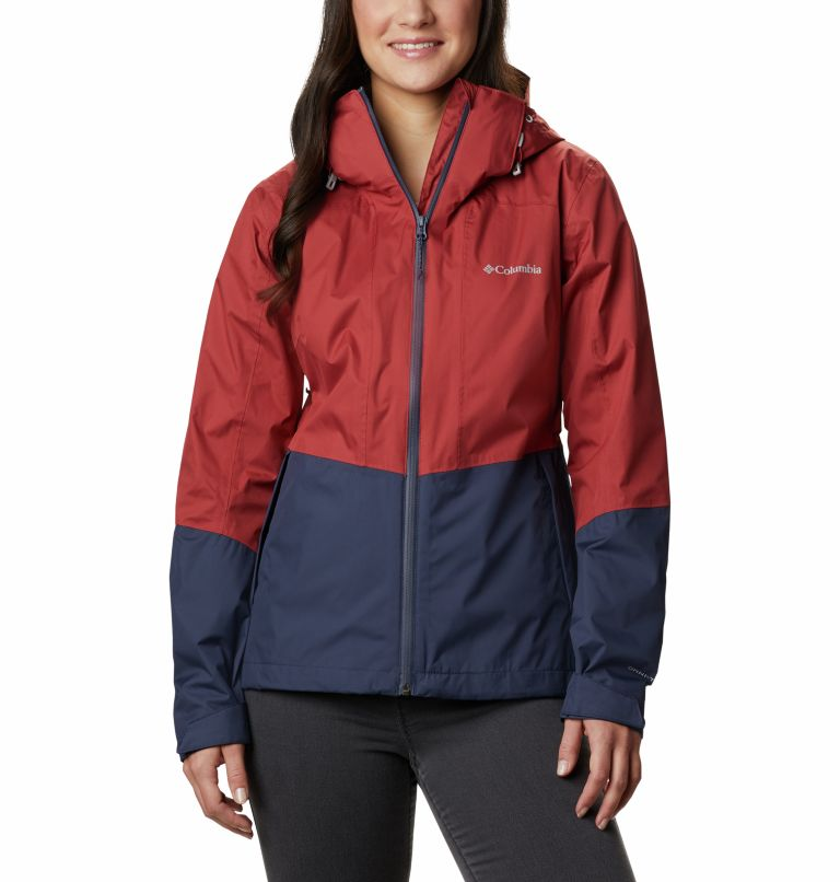 Windgates™ Jacket | 467 | L Chaqueta Windgates™ para mujer, Nocturnal, Dusty Crimson, front