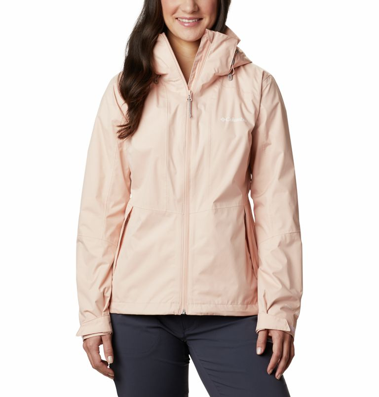 Windgates™ Jacket | 870 | S Chaqueta Windgates™ para mujer, Peach Cloud, front