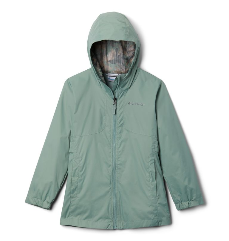 City Trail™ Jacket | 305 | XS Girls' City Trail™ Jacket, Light Lichen, front