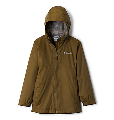 Girls' City Trail™ Jacket City Trail™ Jacket | 327 | L, New Olive, front
