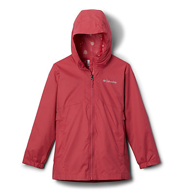Girls' City Trail™ Jacket City Trail™ Jacket | 327 | L, Rouge Pink, front
