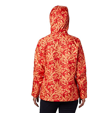 Women's Ridge Gates™ Jacket Ridge Gates™ Jacket | 100 | L, Bold Orange Distressed Tropical Print, back