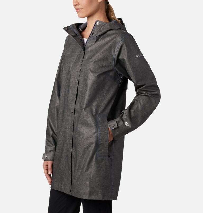 OutDry Ex™ Mackintosh Jacket | 030 | L Women's OutDry Ex™ Mackintosh Jacket, Charcoal Heather, a1