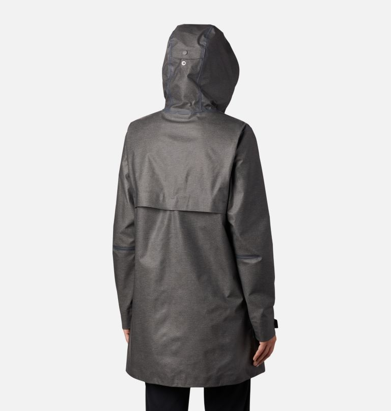 OutDry Ex™ Mackintosh Jacket | 030 | L Women's OutDry Ex™ Mackintosh Jacket, Charcoal Heather, back
