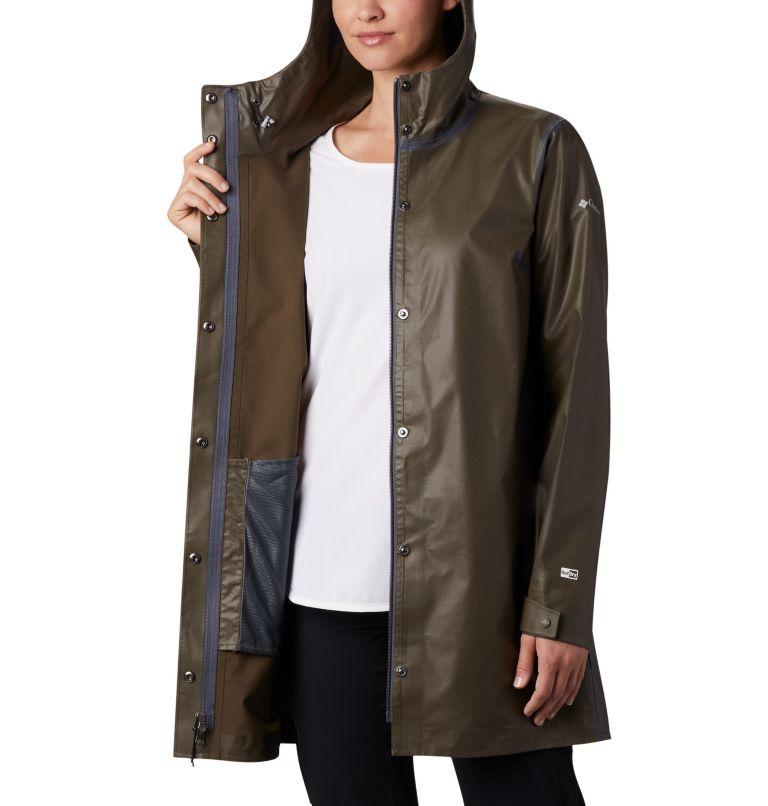 OutDry Ex™ Mackintosh Jacket | 319 | S Women's OutDry Ex™ Mackintosh Jacket, Olive Green Heather, a3