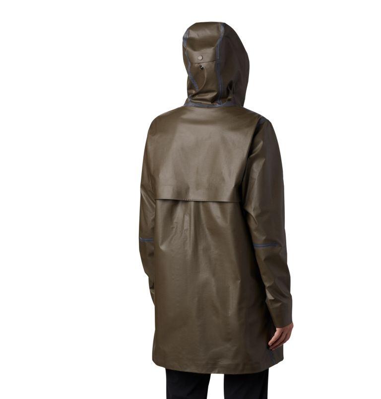 OutDry Ex™ Mackintosh Jacket | 319 | S Women's OutDry Ex™ Mackintosh Jacket, Olive Green Heather, back