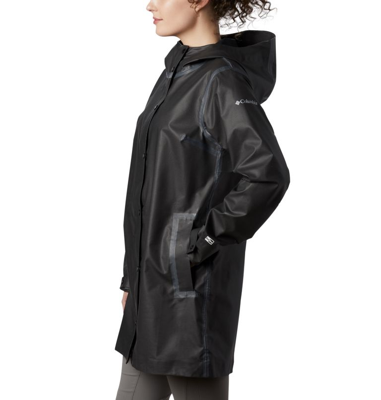 OutDry Ex™ Mackintosh Jacket | 010 | XS Chaqueta OutDry Ex™ Mackintosh para mujer, Black Heather, a1