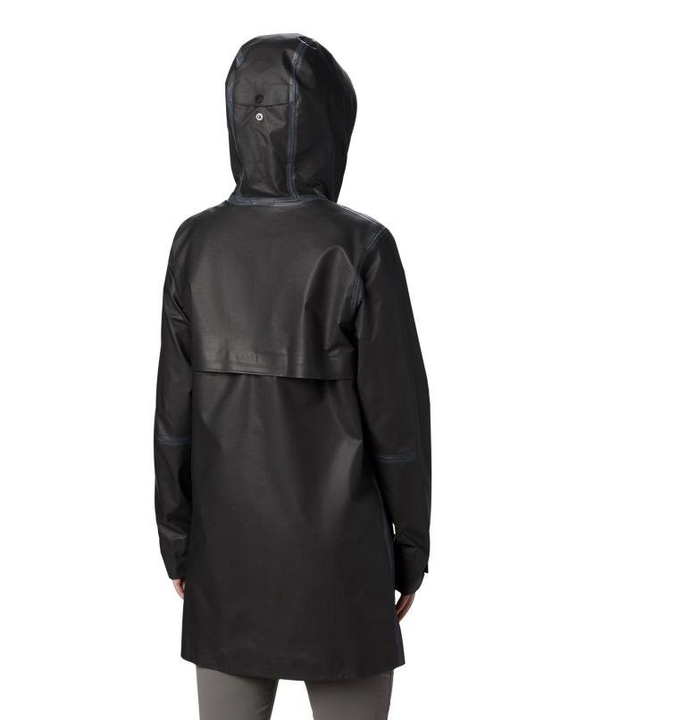 OutDry Ex™ Mackintosh Jacket | 010 | XS Chaqueta OutDry Ex™ Mackintosh para mujer, Black Heather, back