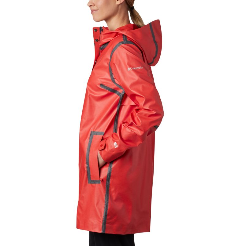 OutDry Ex™ Mackintosh Jacket | 843 | XS Giacca Mackintosh  OutDry Ex™ da donna , Bold Orange Heather, a1