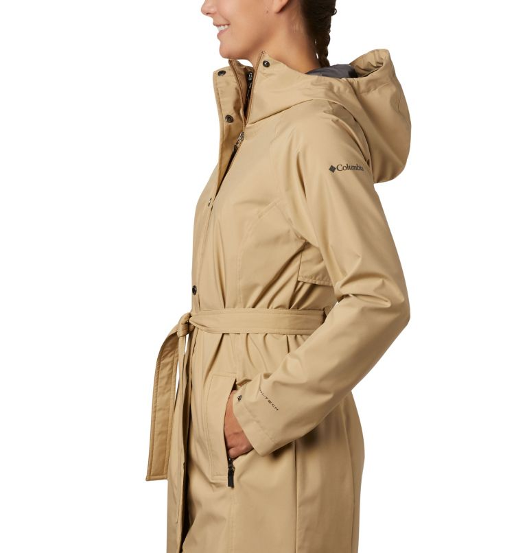 Women's Here And There™ Long Trench Jacket Women's Here And There™ Long Trench Jacket, a1