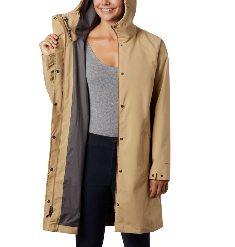 Women's Here And There™ Long Trench Jacket Women's Here And There™ Long Trench Jacket, a4