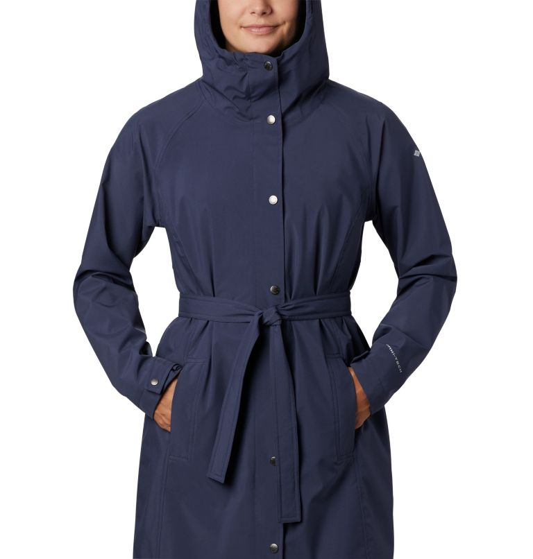Women's Here And There™ Long Trench Jacket Women's Here And There™ Long Trench Jacket, a2