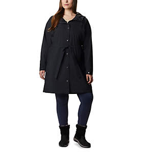 Trench long Here And There™ pour femme – Grandes tailles