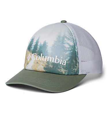 Women's Columbia Mesh™ Hat II W Columbia Mesh™ Hat II | 305 | O/S, Light Lichen, White, Forest Image, front