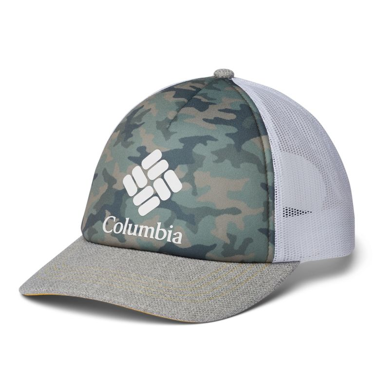 W Columbia Mesh™ Hat II | 316 | O/S Women's Columbia Mesh™ Hat II, Cypress Camo, Colm Grey Heather, White,, front