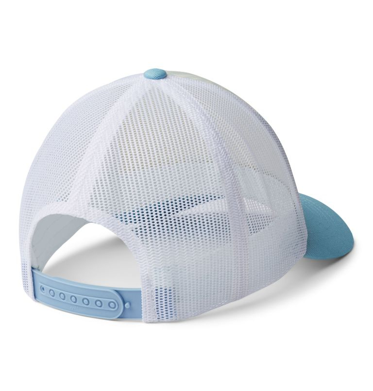 W Columbia Mesh™ Hat II   427   O/S Women's Columbia Mesh™ Hat, Sky Blue, White, Water Image, back
