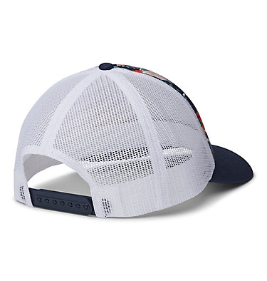Women's Columbia Mesh™ Hat II W Columbia Mesh™ Hat II | 427 | O/S, Nocturnal Floral, Nocturnal, White, Logo, back