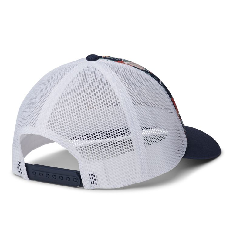 W Columbia Mesh™ Hat II | 466 | O/S Women's Columbia Mesh™ Hat, Nocturnal Floral, Nocturnal, White, Logo, back