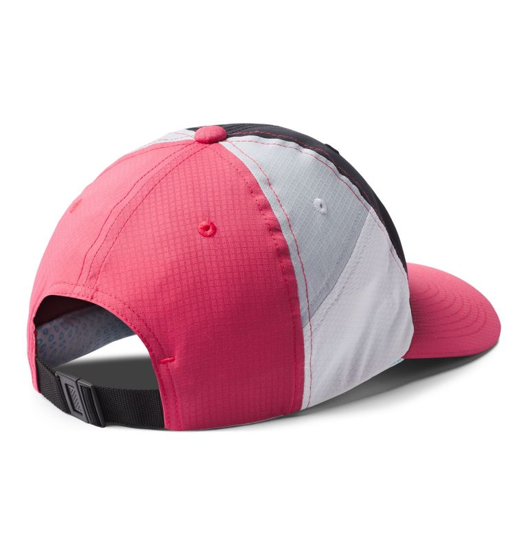Ripstop Ball Cap | 010 | O/S Ripstop Ball Cap, Black, Rouge Pink, Cirrus Grey, White, back