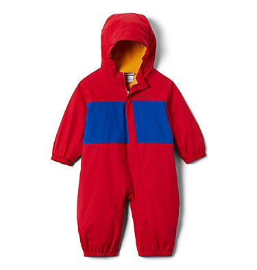 Infant Critter Jitters™ Rain Suit Critter Jitters™ Rain Suit | 634 | 0/3, Mountain Red, Azul, front