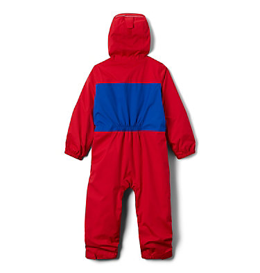 Toddler Critter Jitters™ Rain Suit Critter Jitters™ Rain Suit | 613 | 3T, Mountain Red, Azul, back