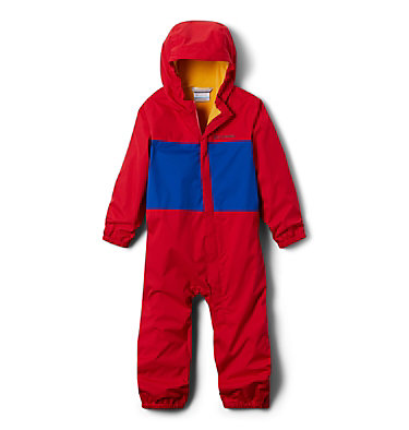 Toddler Critter Jitters™ Rain Suit Critter Jitters™ Rain Suit | 613 | 3T, Mountain Red, Azul, front