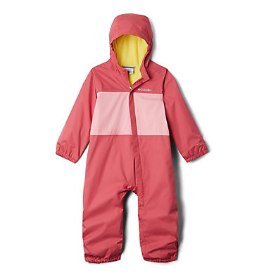 Toddler Critter Jitters™ Rain Suit Critter Jitters™ Rain Suit | 634 | 2T, Rouge Pink, Pink Orchid, front