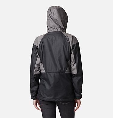 Coupe-vent doublé Side Hill™ pour femme Side Hill™ Lined Windbreaker | 466 | L, Black, City Grey, back