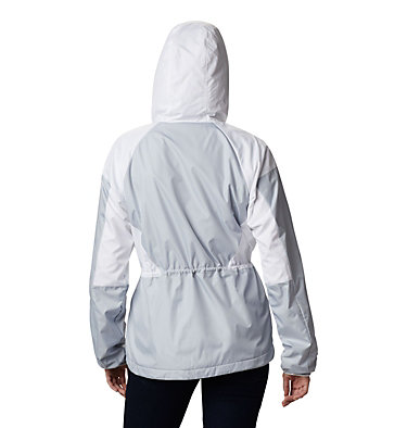 Women's Side Hill™ Lined Windbreaker Side Hill™ Lined Windbreaker | 843 | XL, Cirrus Grey, White, back