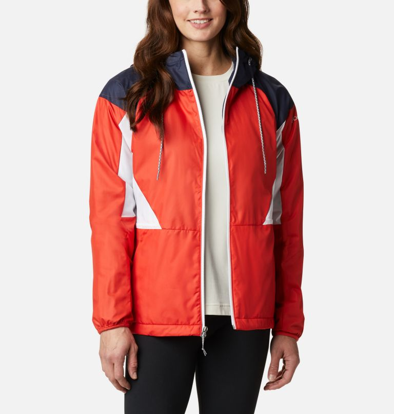 Women's Side Hill™ Lined Windbreaker Women's Side Hill™ Lined Windbreaker, front