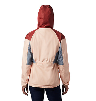 Coupe-vent doublé Side Hill™ pour femme Side Hill™ Lined Windbreaker | 466 | L, Peach Cloud, Dusty Crimson, Trdwnd Grey, back