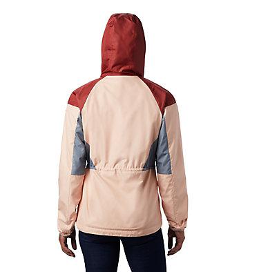 Women's Side Hill™ Lined Windbreaker Side Hill™ Lined Windbreaker | 466 | L, Peach Cloud, Dusty Crimson, Trdwnd Grey, back