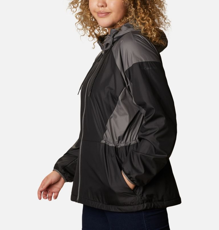 Women's Side Hill™ Lined Windbreaker - Plus Size Women's Side Hill™ Lined Windbreaker - Plus Size, a1